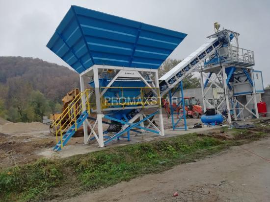 Promax КОМПАКТНЫЙ БЕТОННЫЙ ЗАВОД C60-SNG PLUS (60m³/h)