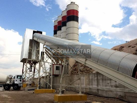 PROMAXSTAR S160-TWN STATIONARY CONCRETE BATCHING PLANT 160m3/h PROMAX