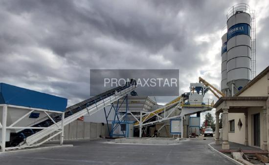 Promax МОБИЛЬНЫЙ БЕТОННЫЙ ЗАВОД M100-TWN (100m³/h)