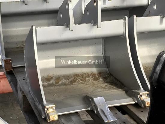 Winkelbauer Tieflöffel 400mm für Yanmar VIO10, SV08 fix