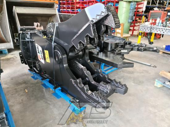 MBI Pulverisierer Rotation RP18