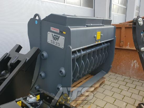 VTN Siebschaufel hydraulisch SB20 mit Masche 50x200 mm