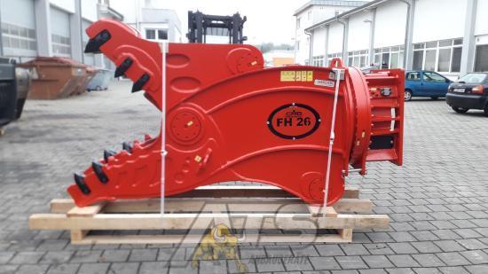 CMB FH26 Pulverisierer Rotation