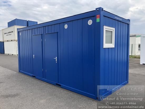WC-Container mit Dusche