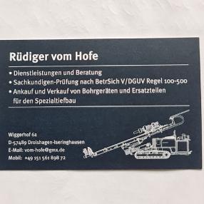 Rüdiger vom Hofe