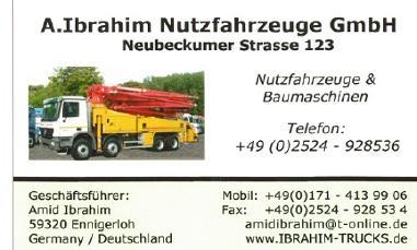 A.Ibrahim Nutzfahrzeuge GmbH