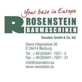 Rosenstein Baumaschinenhandels GmbH & Co. KG
