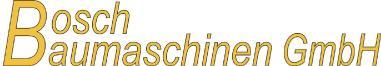 Bosch Baumaschinen GmbH